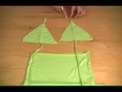 Make Your Own Form-Fitting Halter Dress