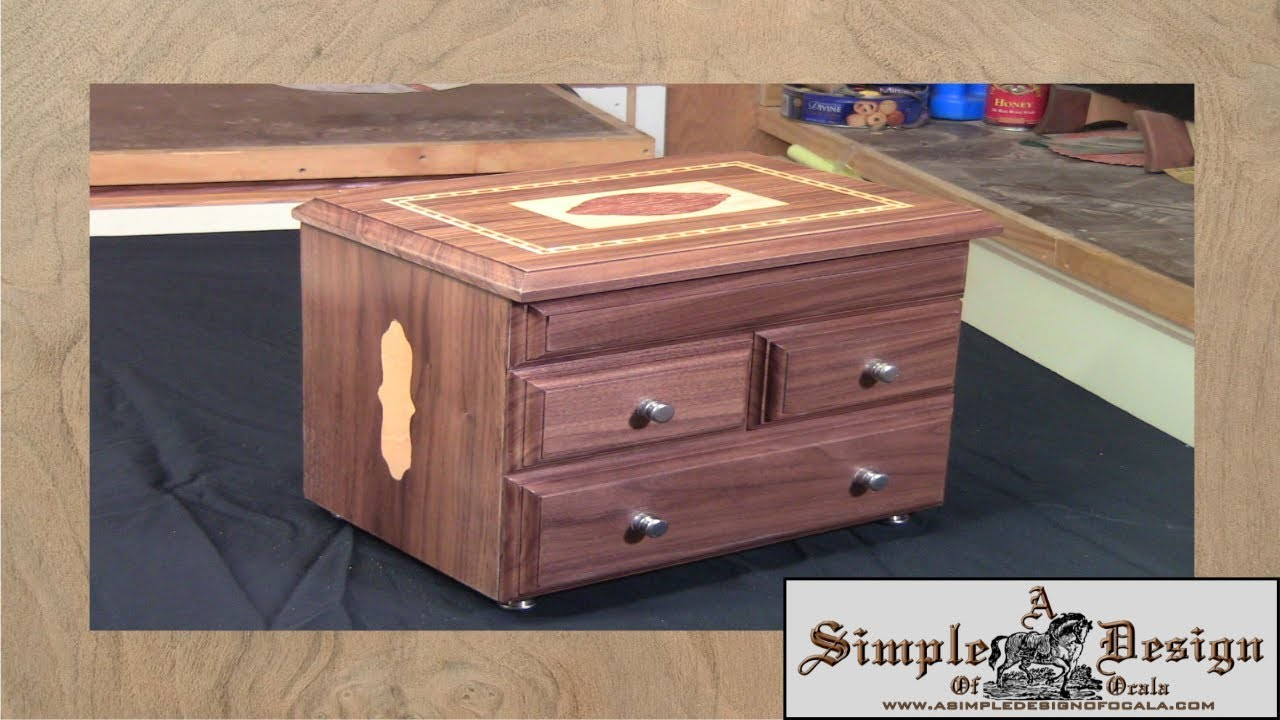 Making an Inlay Jewelry Box Part 1