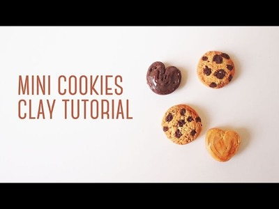 Mini Cookies - Polymer Clay Tutorial