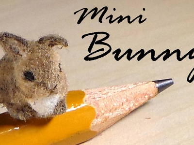 Miniature Baby Bunny - Polymer Clay Tutorial