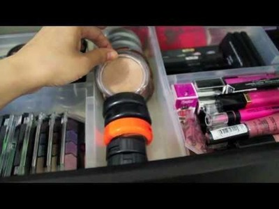 My Makeup Collection and Storage Ideas