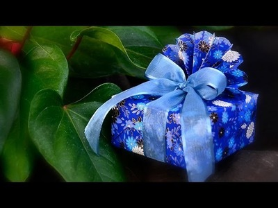 Peacock Style Gift Wrapping