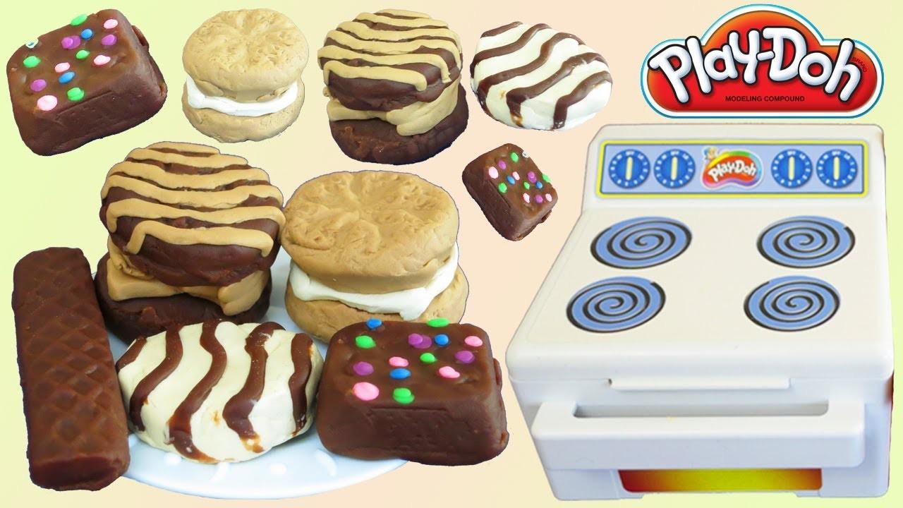 Play-Doh Little Debbie Snack Cake Kitchen Dessert Playset!