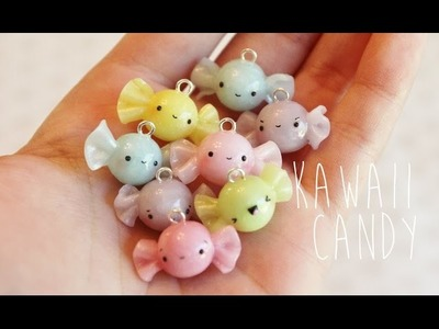 Polymer Clay Tutorial Kawaii Candy