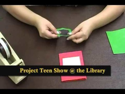 "Project Teen #5: How-To Make ""Shaker Cards"""