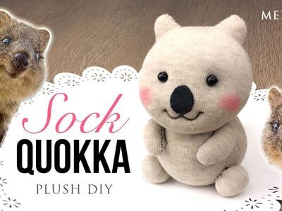 Quokka DIY Sock Plush - Adorable Money-Saving Craft Project