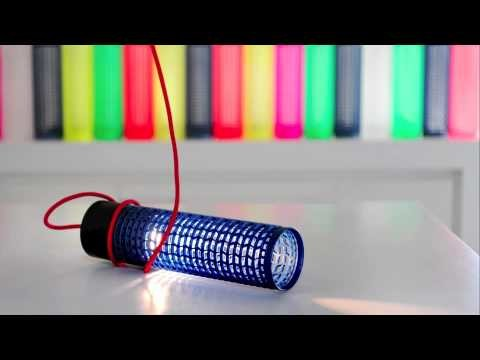 RE+ LED light, bright, coloured, sustainable