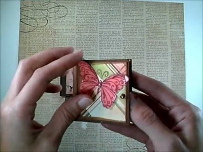 Shabby Chic Micro Mini Albums