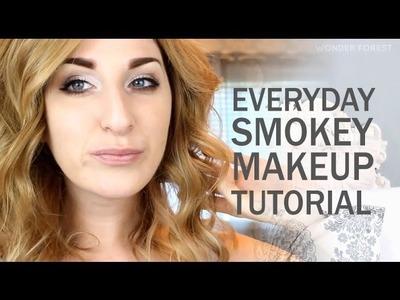Smokey Everyday Makeup Tutorial | Wonder Forest