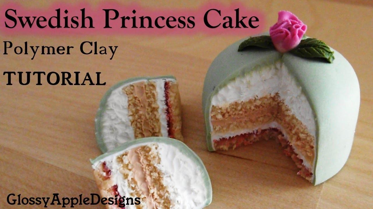 Tutorial: How to Make a Polymer Clay Swedish Princess Cake