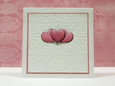 Valentine's Day Card - Card Making Tutorial