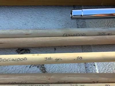 178 - How To Make A Natural Wood Shoot Arrow Shaft Part 1