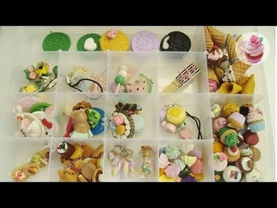 2014 Polymer clay charm collection
