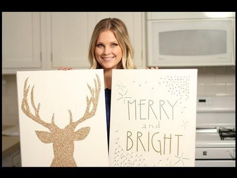 Amazing Christmas Canvas Art!!