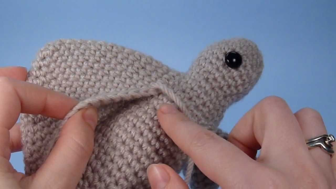 Amigurumi Seamless Join (right-handed version)