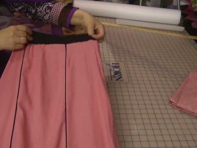 Circle frill skirt result