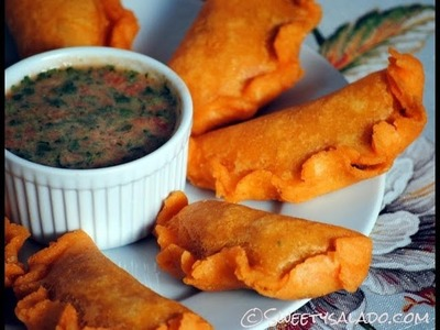 Colombian Empanadas Recipe - How To Make Colombian Empanadas (Turnovers) - Sweetysalado.com