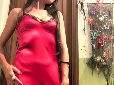 Create A Luxurious Satin Nightgown