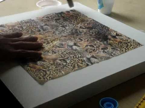 Decoupage Paper Napkins Technique - Part 1