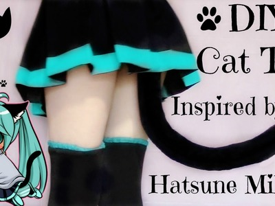 DIY Cat Tail Inspired by Hatsune Miku