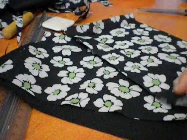 DIY fabric pencil case