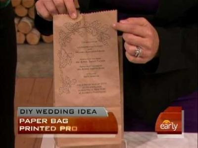 Do-It-Yourself Wedding Ideas