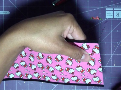 Duct Tape Pouch Tutorial (Hello Kitty Tape)