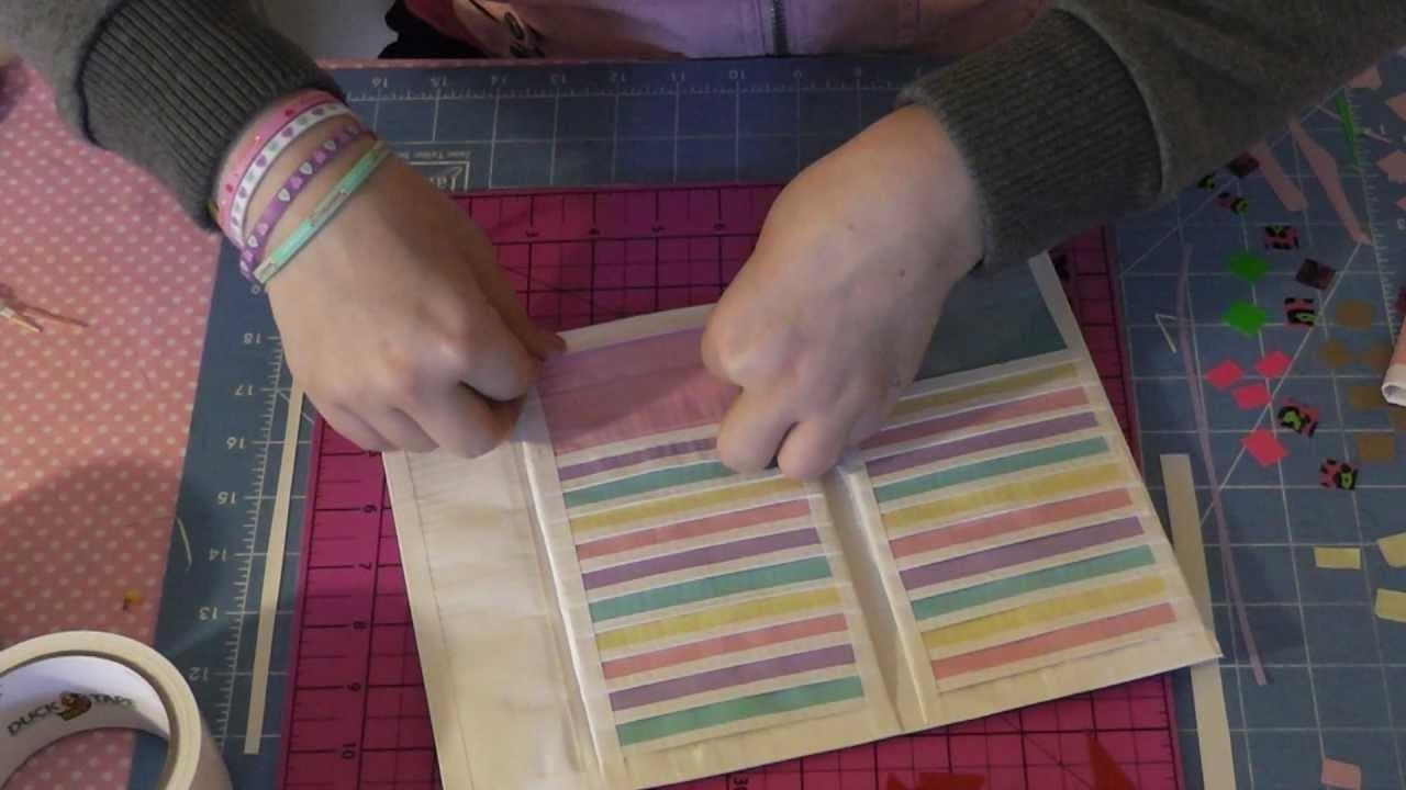 Duct Tape Women's Clutch Wallet Tutorial