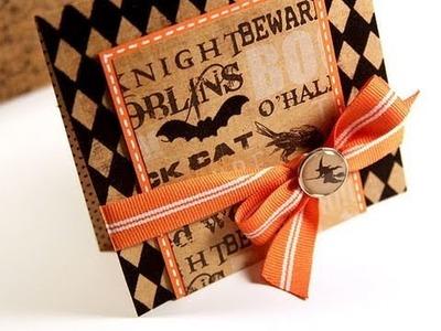 Finally Friday - Halloween Card