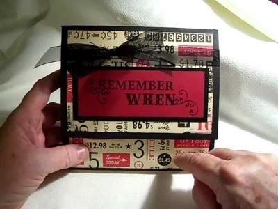 Five and Dime Large Wallet Mini Album