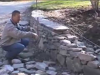 How to Build a New England Fieldstone Wall by David Croteau