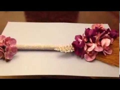 How to decorate a broom for your wedding