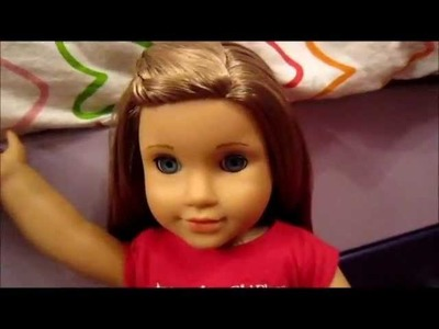 How to do a waterfall braid on your American Girl doll! :)