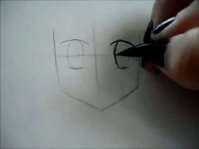 How to draw girl Anime.Manga face