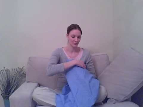 How to Fold a Fitted Bed Sheet Video