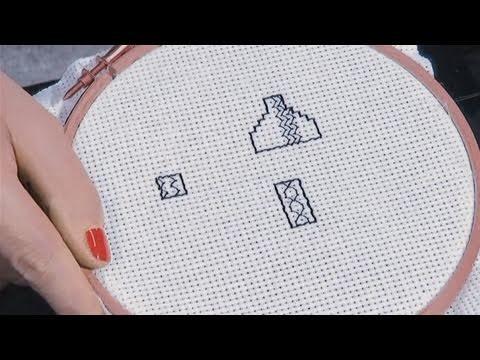 How To Make A Blackwork Cross Stitch