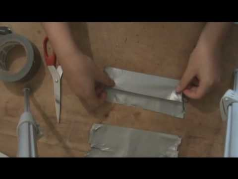 How to make a Duct Tape Wallet - With Pockets - card slots