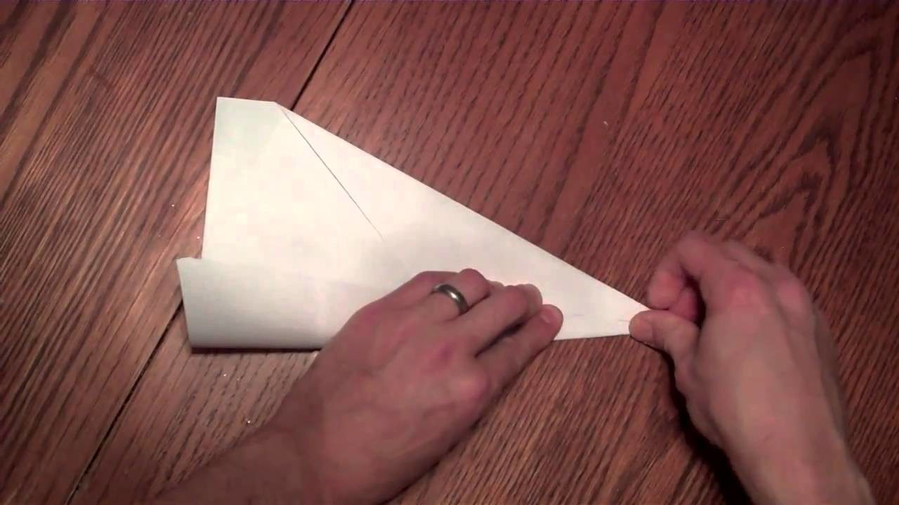 "How To Make A Fast-Flying Paper Airplane- The ""Arrow"""