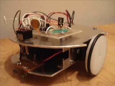 How to make a home made line follow robot