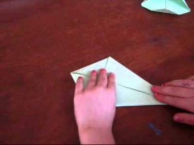 How to make a Paper Jumping Frog