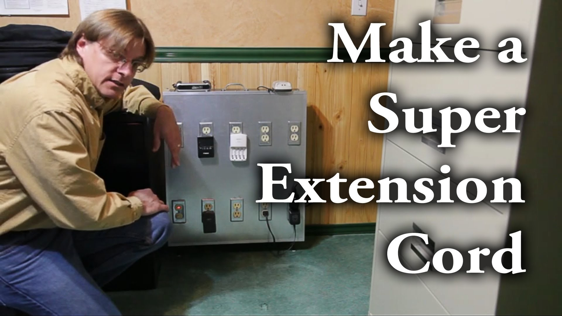 "How to make a ""super"" extension cord (aka power distribution box)"