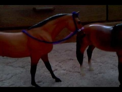 How to make breyer halter