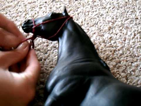 How to make breyer halters
