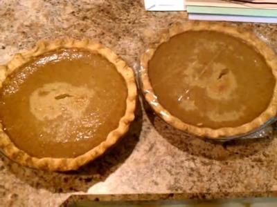 How to make homemade pumpkin pie