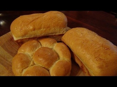How To Make Homemade White Bread ( Recipe )