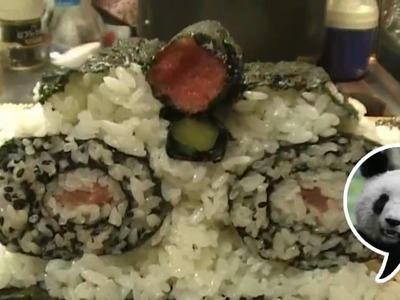 How to make Panda Sushi Roll