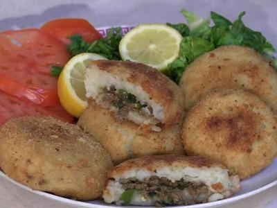 How To Make Potato Chops Recipe -  Pakistani.Indian food