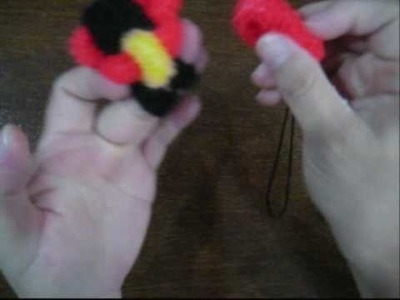 How to make Teddy Bear out of Hair Rubber Bands