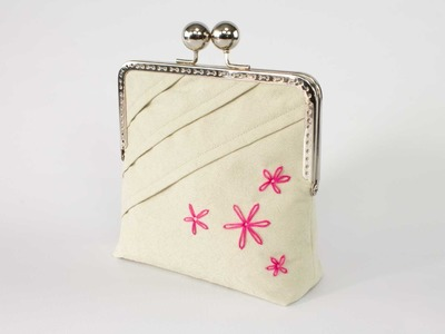 How To Sew A Framed Clutch Purse