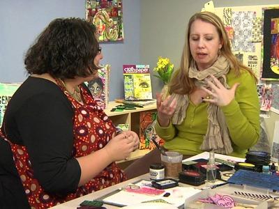 Interview with Julie Fei-Fan Balzer: Stamp-Making Adventures Cloth Paper Scissors Workshop DVD